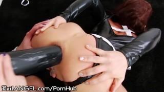 Imagen Anal perforacion de culo entre lesbianas con dildo