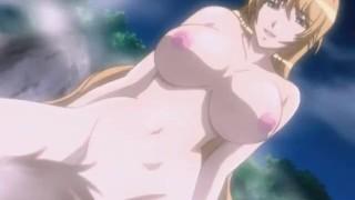 Imagen Hentai follada en el sauna