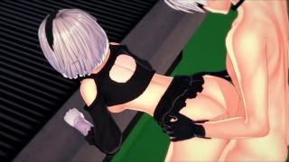 Imagen Hentai sexo en 3d al aire libre