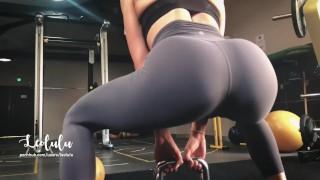 Imagen Deportista sexo en el gimnasio con un buen culo