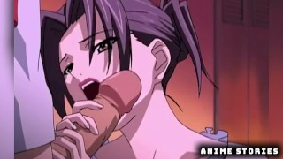 Imagen Hentai fantasia sexuales con una vecina