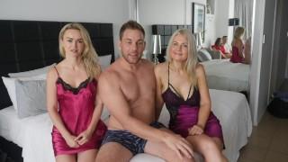 Imagen Trio con mi esposa y mi cuñada