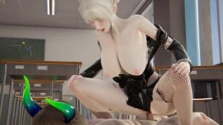 Imagen Hentai sexo con la profesora de tetas grande